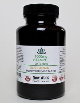 1000mg - 90ct. Select Vitamin C Tablets
