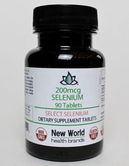 200mcg - 90ct. Select Selenium Tablets