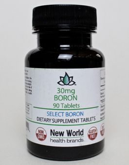 30mg - 90ct. Select Boron Tablets